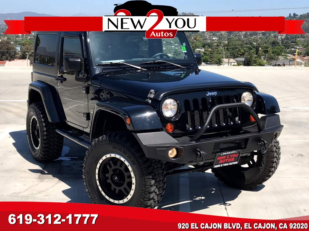 2012 Jeep Wrangler Sahara W/LIFT/CUSTOM WHEELS/HARD TOP!!!