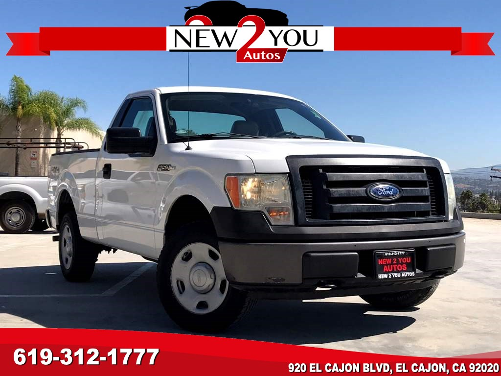 2009 Ford F-150 XL Four Wheel Drive low mileage hard to find