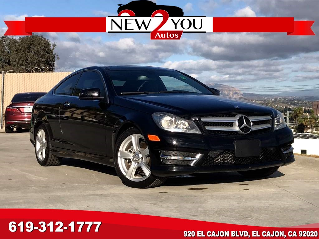 2013 Mercedes-Benz C 250 Coupe LOW MILES!!!