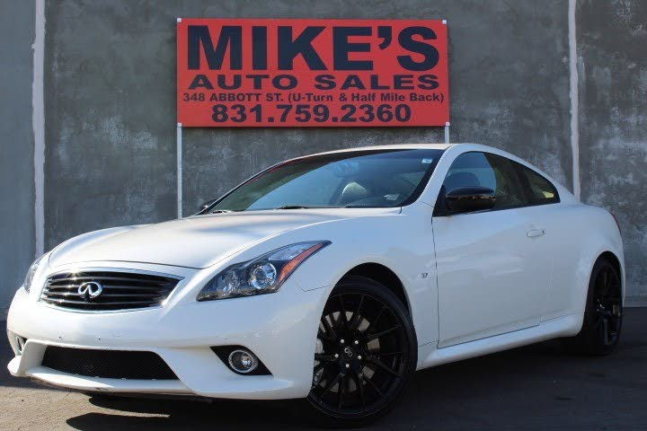 Used 2015 Infiniti Q60 Coupe S Limited In Salinas