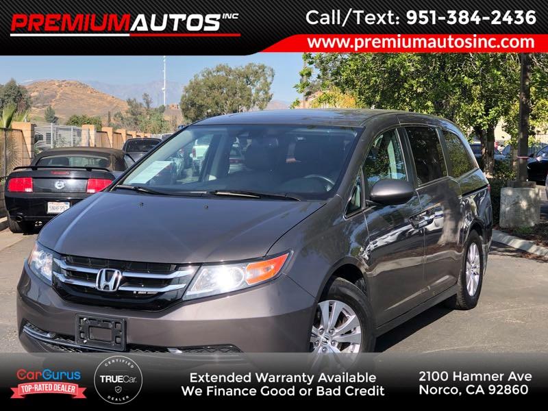 2016 Honda Odyssey EX-L - REAR ENTERTAINMENT - SUNROOF - Premium Autos