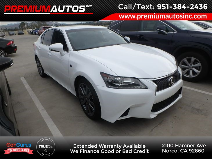 Used 2015 Lexus Gs 350 F Sport Navigation In Norco