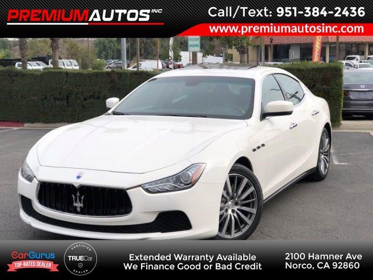 Used Maserati For Sale Norco Ca Premium Autos