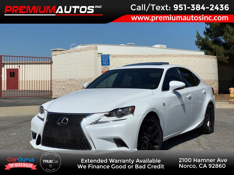 2015 Lexus IS 350 F SPORT PKG - NAVIGATION