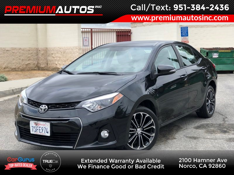 2016 Toyota Corolla S Plus - ONLY 13K MILES