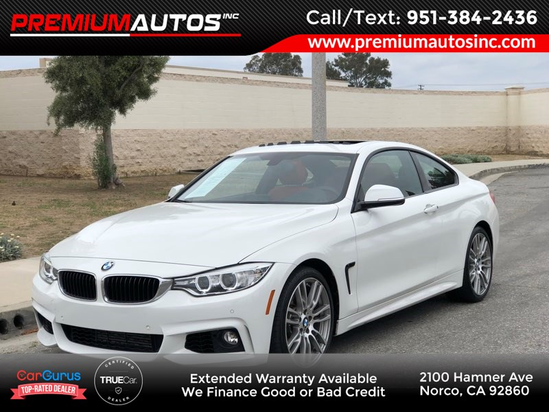 Sold 2016 Bmw 4 Series 428i M Sport Red Interior In Norco