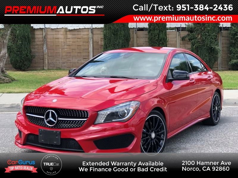 2016 Mercedes-Benz CLA 250 Coupe AMG/NIGHT PKG