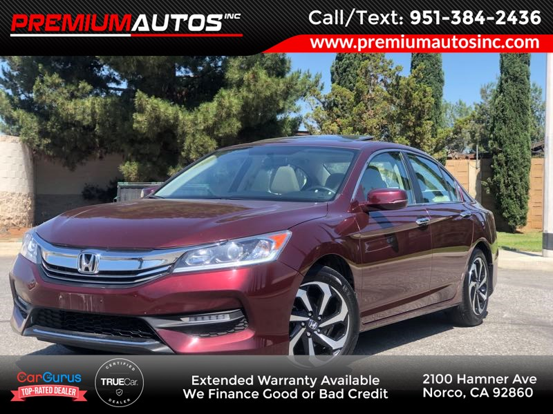 2016 Honda Accord Sedan EX - SUNROOF