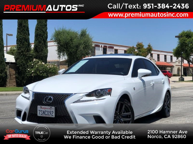 2016 Lexus IS 200t F SPORT PKG