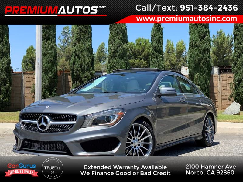 2016 Mercedes-Benz CLA 250 Coupe - AMG SPORT - PANO ROOF