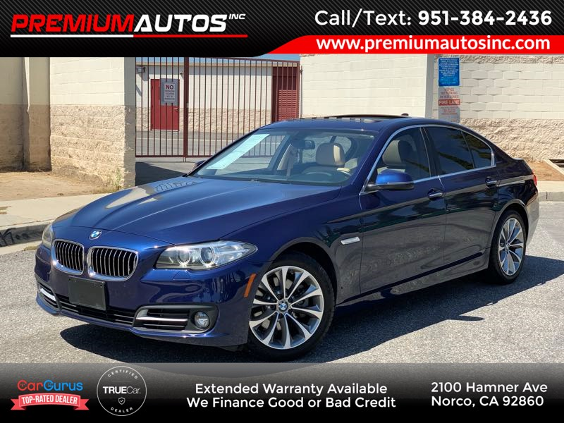 2016 BMW 5 Series 528i - ONLY 15K MILES -