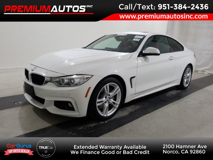 2016 BMW 4 Series - M SPORT PKG - RED SEATS 428i