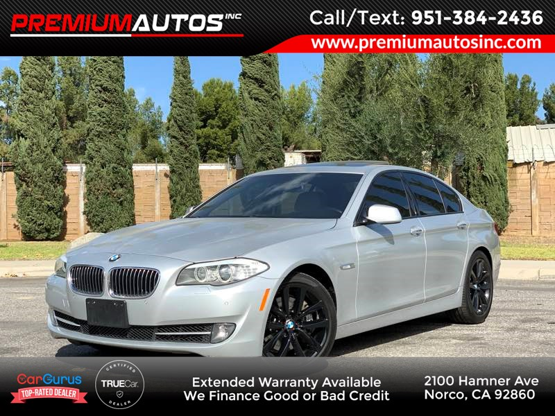 2012 BMW 5 Series 535i - NEW TIRES