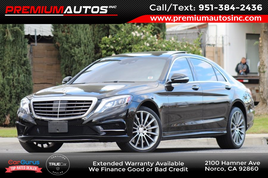 2015 Mercedes-Benz S 550 Sedan - AMG SPORT PKG - LOADED