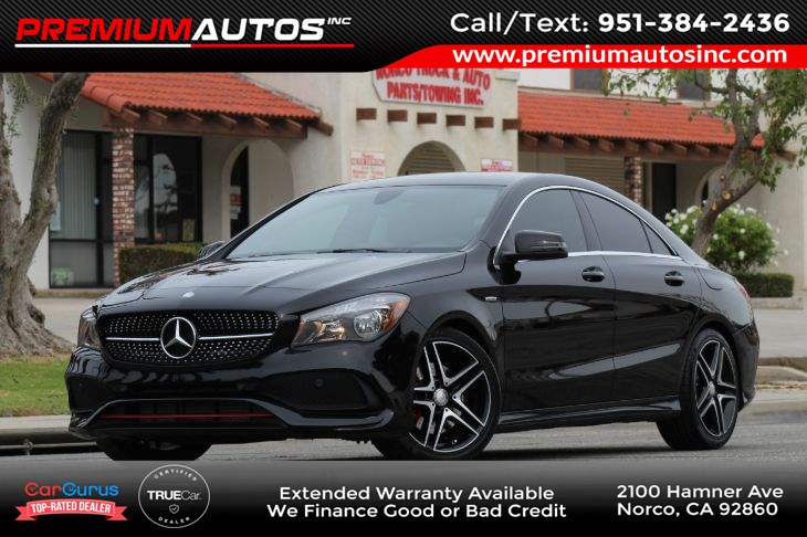 2017 Mercedes-Benz CLA 250 SPORT Coupe