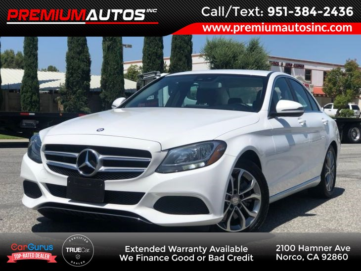 2016 Mercedes-Benz C 300 4MATIC Sedan