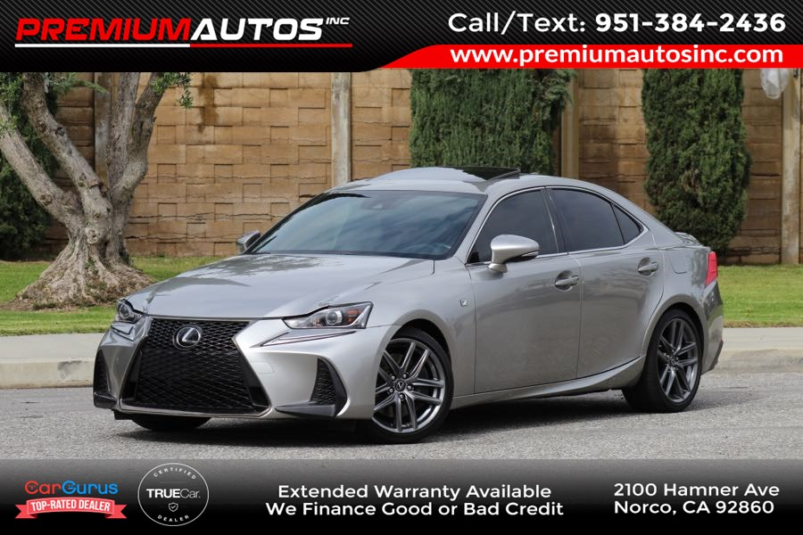 2018 Lexus IS IS 300 F Sport AWD - RED SEATS