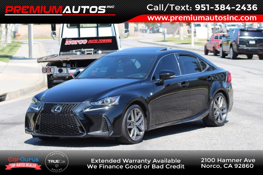 2017 Lexus IS IS200 Turbo F Sport - RED INTERIOR