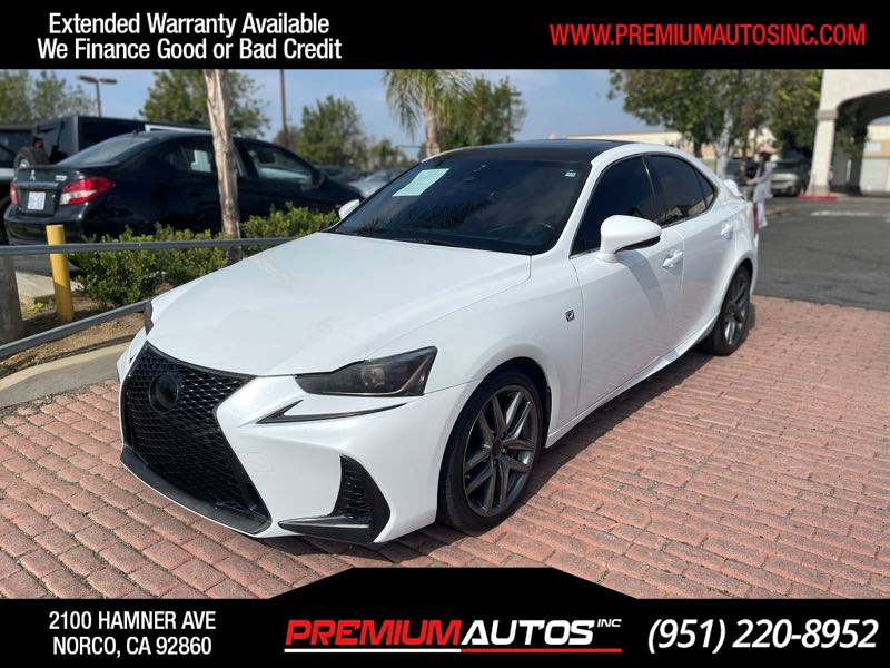 2017 Lexus IS IS Turbo F SPORT - RED INTERIOR
