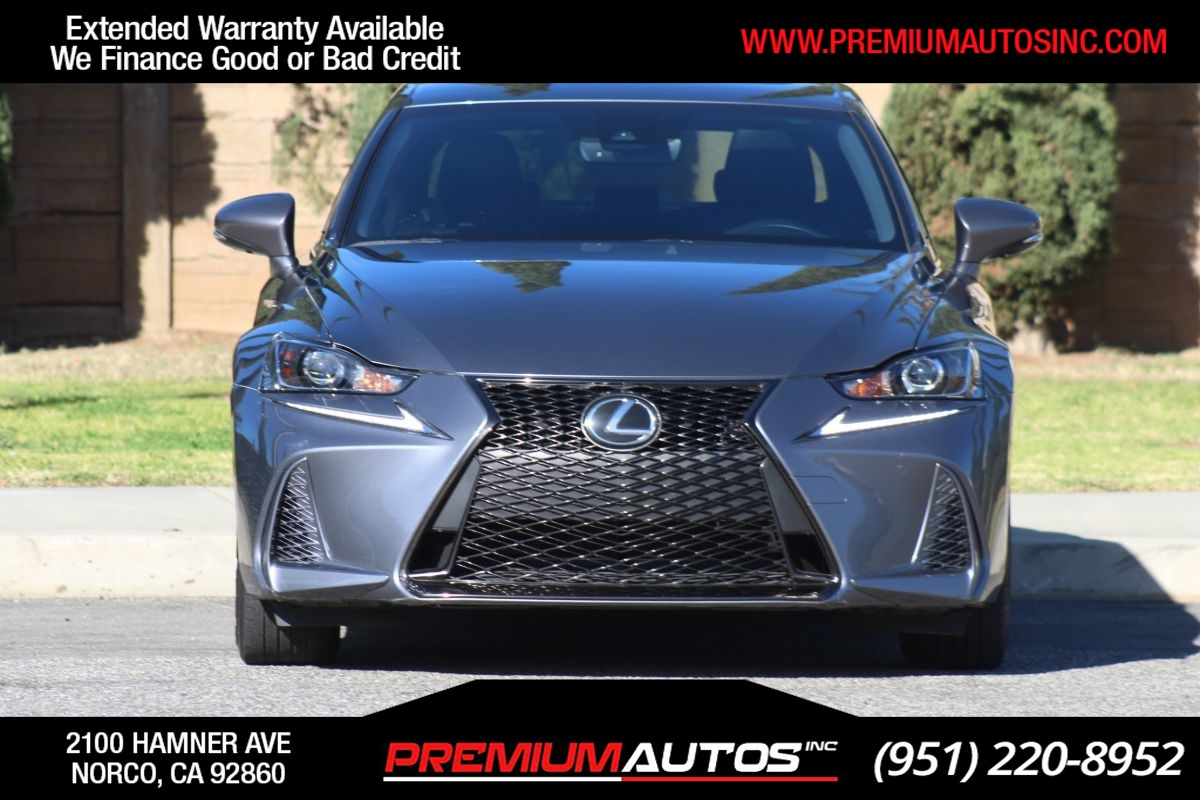 2017 Lexus IS IS Turbo F Sport - 20K MILES