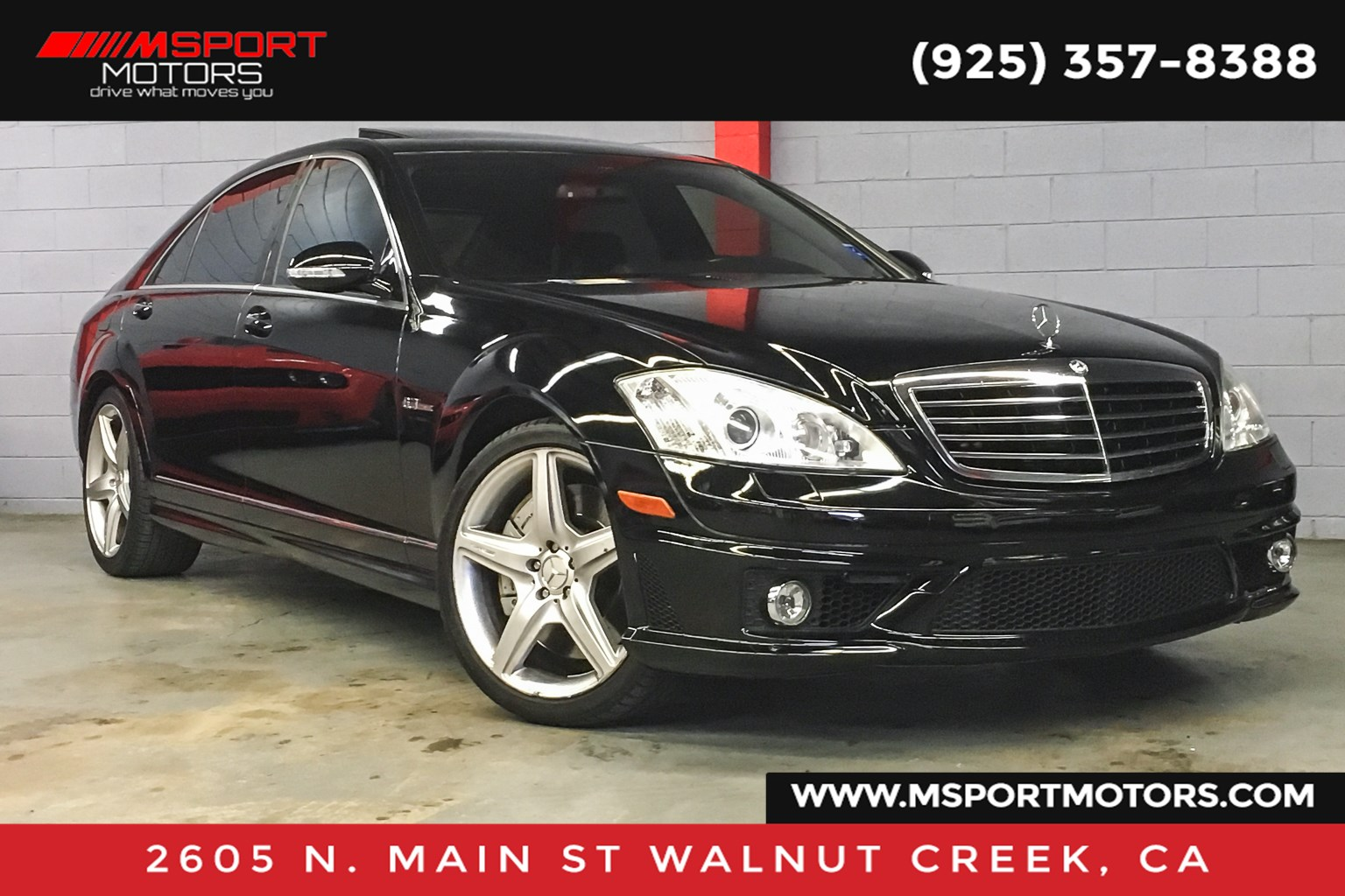 2008 Mercedes-Benz S63 S 63 AMG® Base