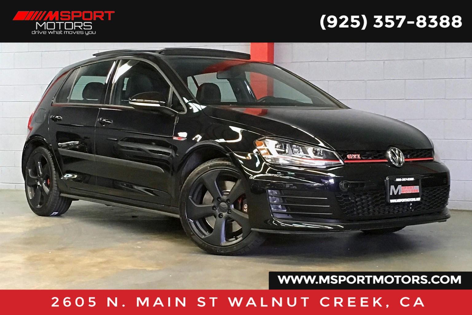 2017 Volkswagen Golf GTI SE - M Sport Motors