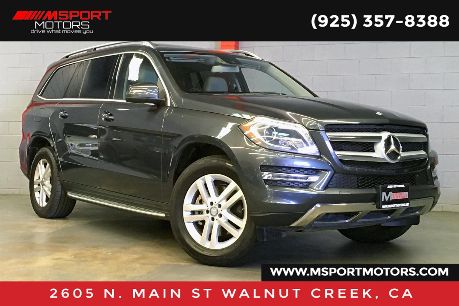 2014 Mercedes-Benz GL 450 GL 450 4MATIC®