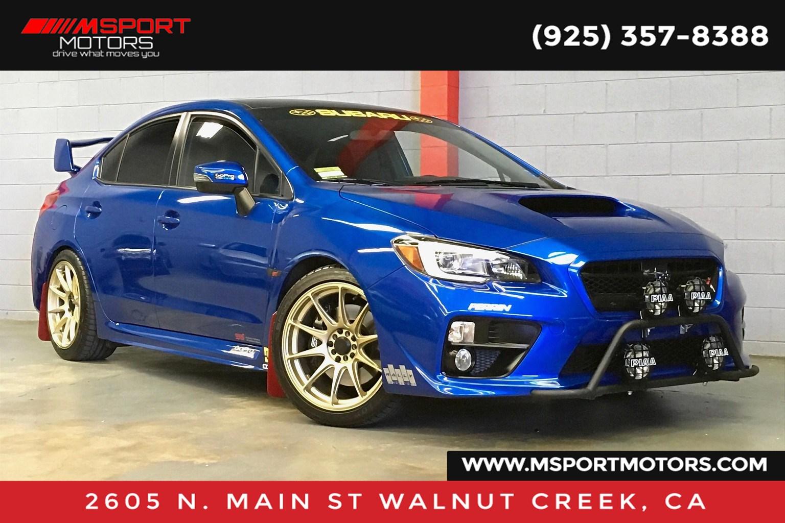 Walnut Creek Subaru >> 2015 Subaru Wrx Sti Wrx Sti M Sport Motors