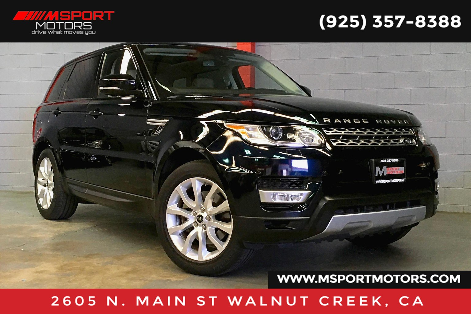 2014 Land Rover Range Rover Sport 3.0L V6 Supercharged HSE
