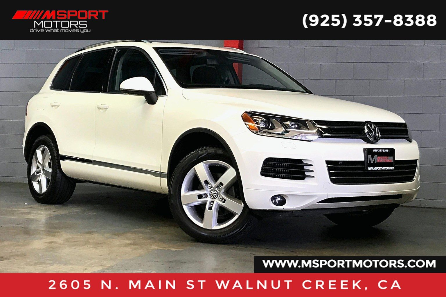 Sold 2011 Volkswagen Touareg V6 Tdi Lux In Walnut Creek