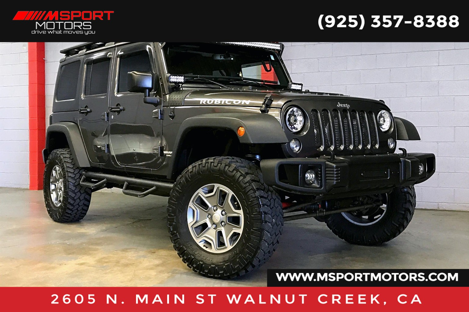 2016 Jeep Wrangler Unlimited Unlimited Rubicon Ripp Supercharger