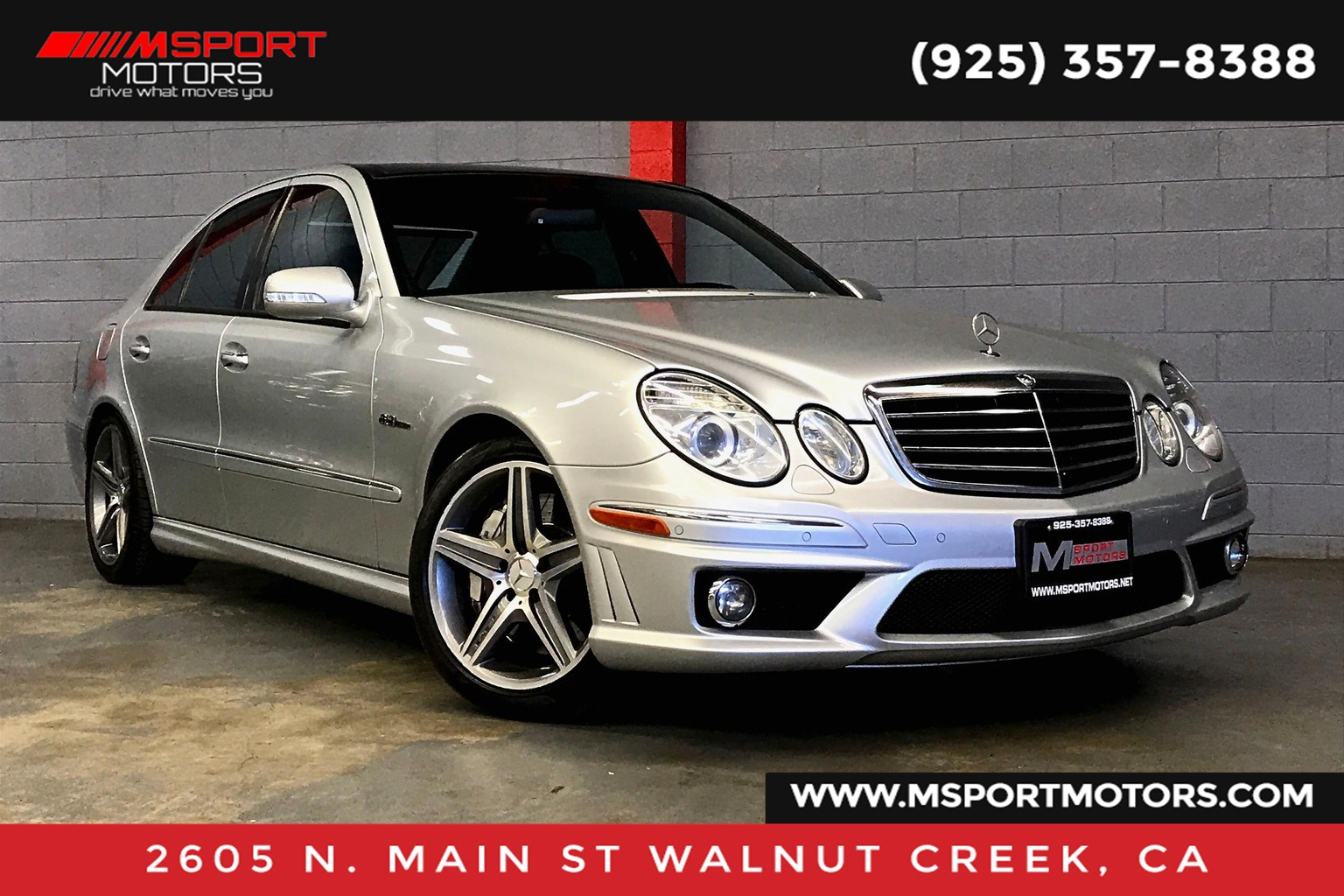 2009 Mercedes-Benz E63 E 63 AMG® Base