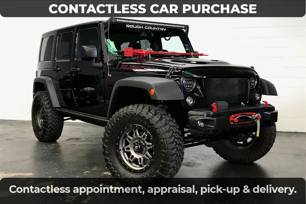2015 Jeep Wrangler Unlimited Unlimited Rubicon HARD ROCK
