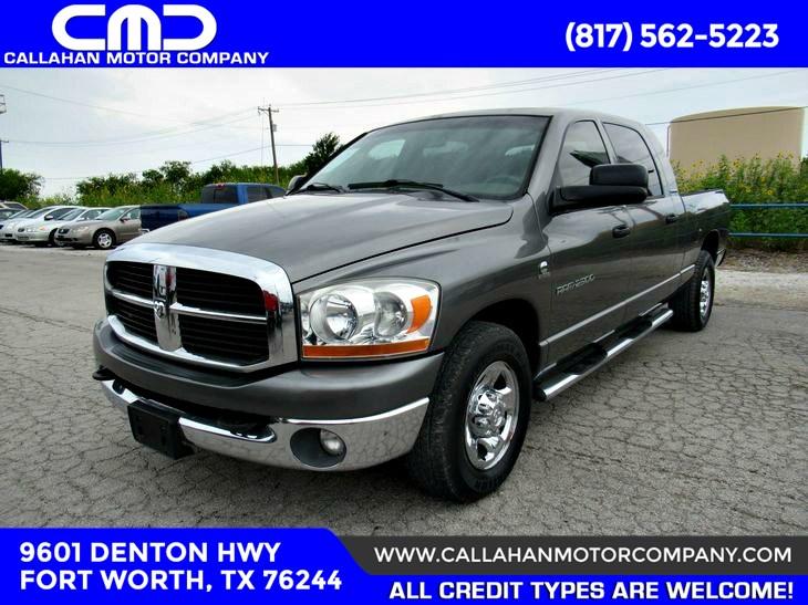 Sold 2006 Dodge Ram 2500 Slt In Fort Worth