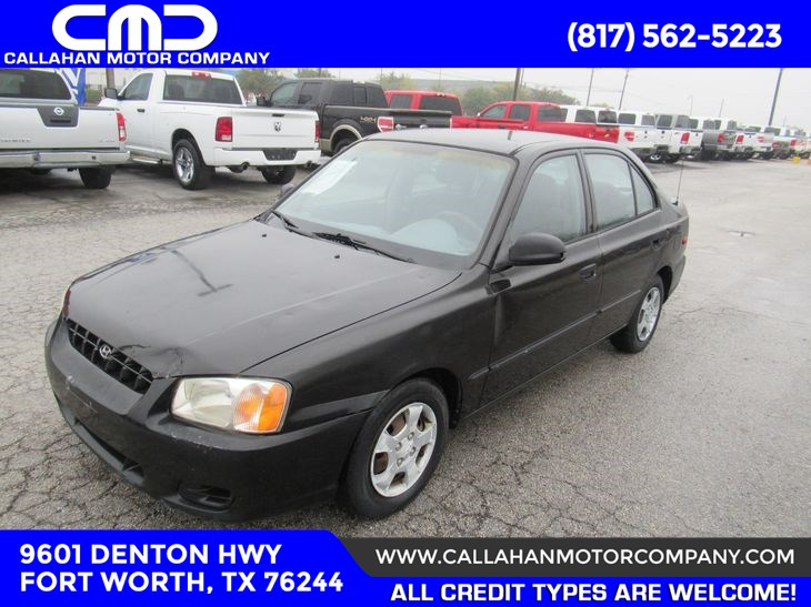 sold 2002 hyundai accent gl in fort worth callahan motor company