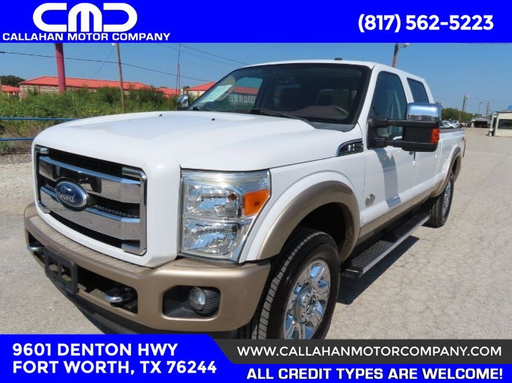 2012 Ford Super Duty F-250 SRW King Ranch