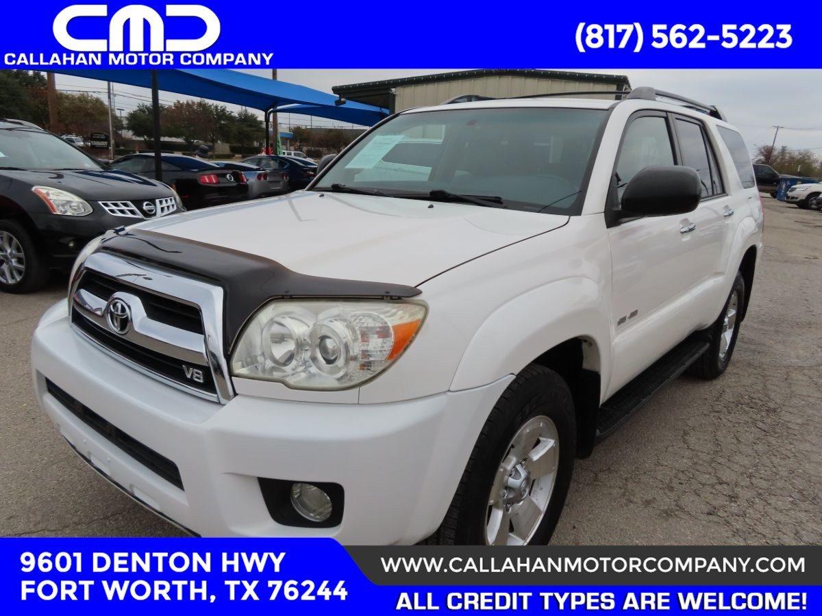 Sold 2007 Toyota 4runner Sr5 In Fort Worth
