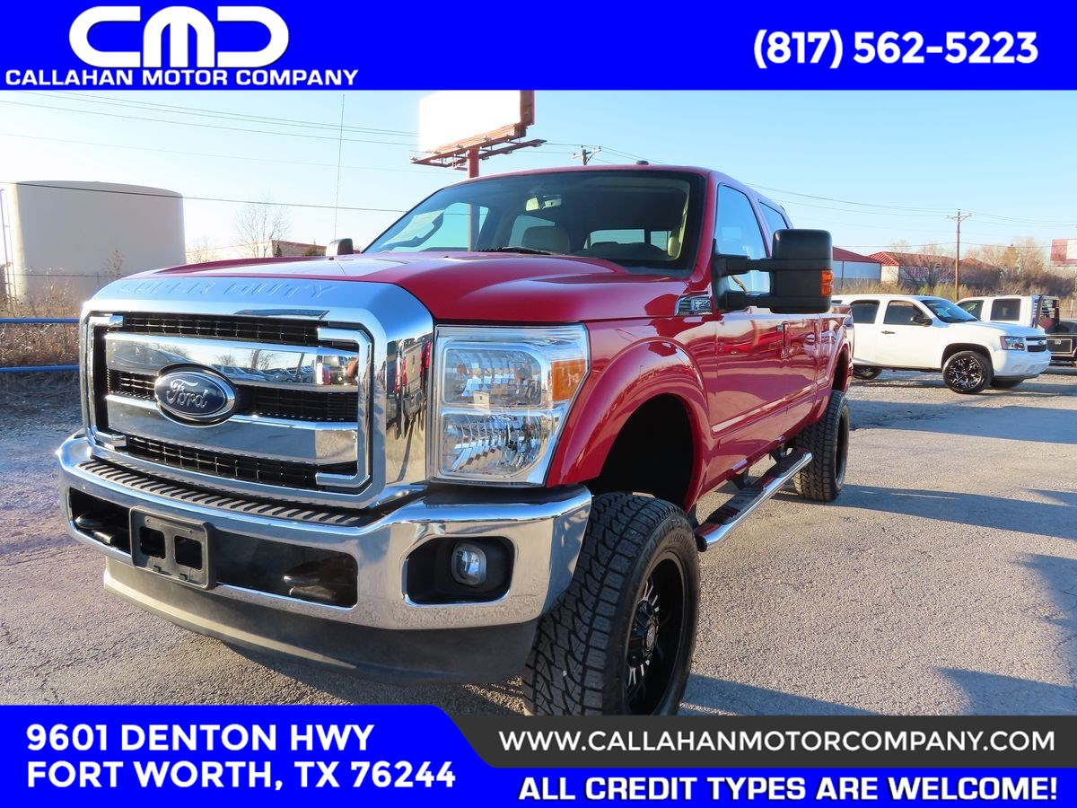 2013 Ford Super Duty F-250 SRW Lariat