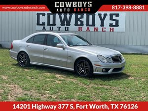 View 2007 Mercedes-Benz E63