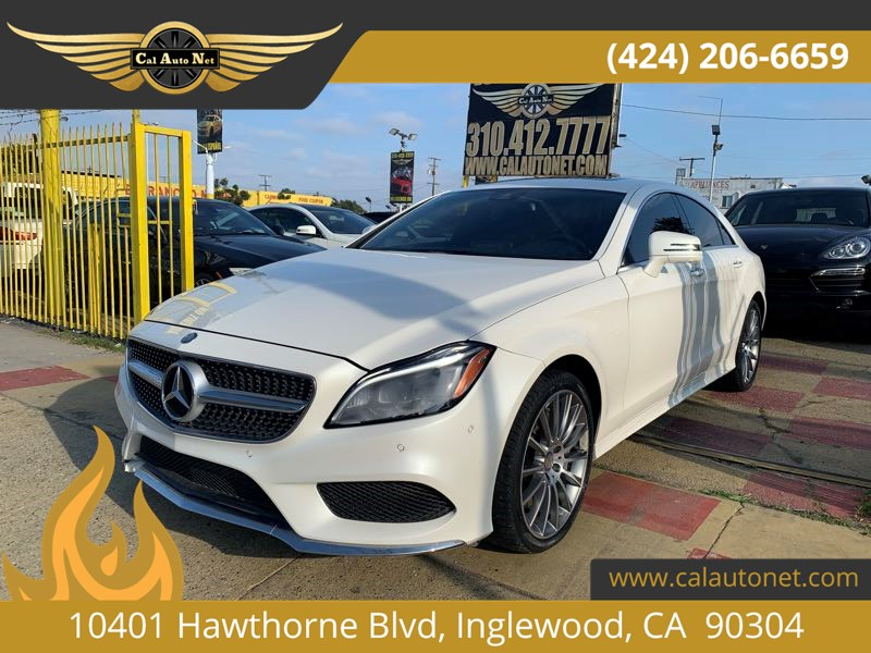 2015 Mercedes-Benz CLS 550 4MATIC Coupe