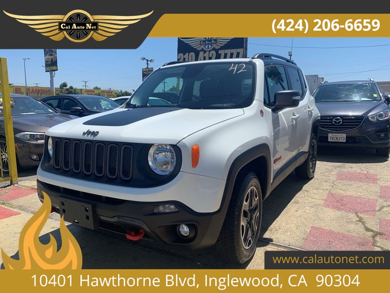 2017 Jeep Renegade Trailhawk