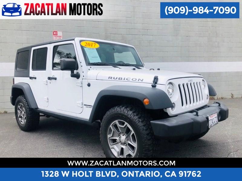 2017 Jeep Wrangler Unlimited Rubicon Zacatlan Motors