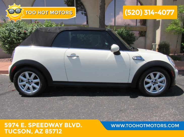 2011 MINI Cooper Convertible Base
