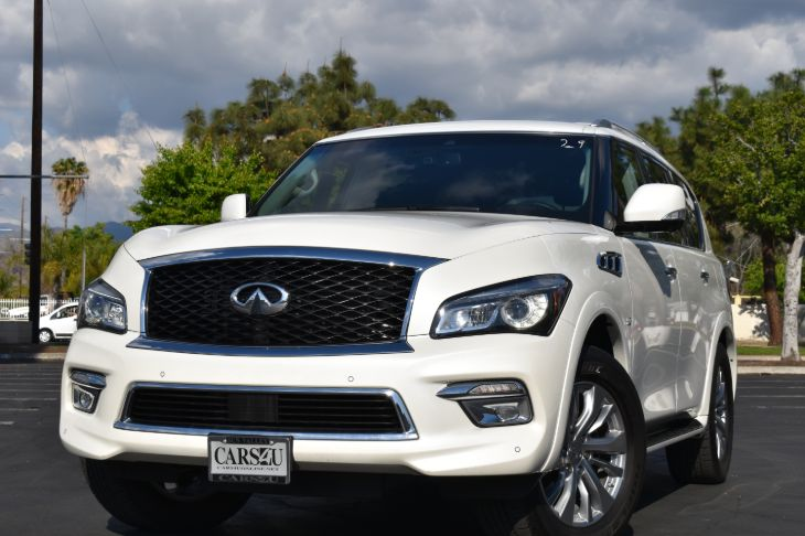 2017 INFINITI QX80 1 OWNER!! LOW MILES!! FULL FACTORY WARRANTY!!