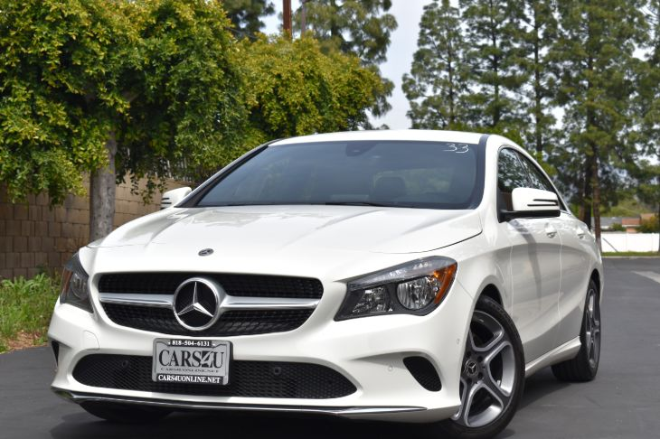 2018 Mercedes-Benz CLA 250 Coupe  FULL FACTORY WARRANTY!!!