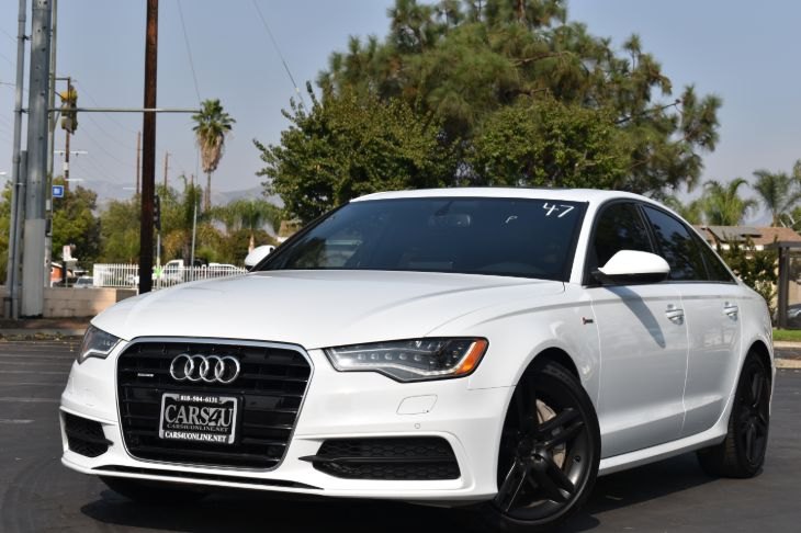 2015 Audi A6 3.0T Premium Plus  LOADED!! S LINE!!