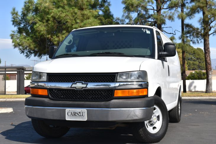 2012 Chevrolet Express Cargo Van 3500 FULL POWER!! CNG!! NATURAL GAS POWERED!!