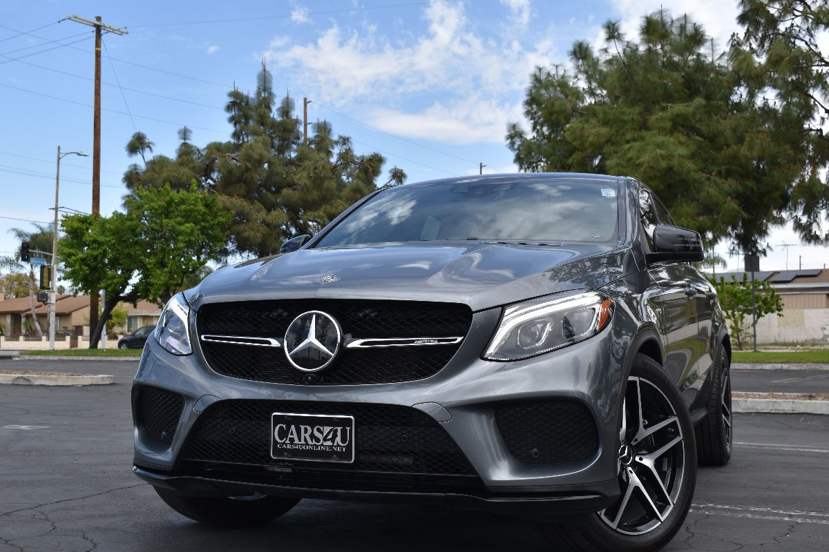 2018 Mercedes-Benz AMG GLE 43  4MATIC Coupe 1 OWNER!! LOADED!! FULL WARRANTY!!