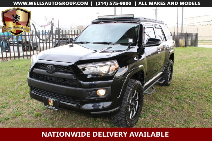 2016 4runner Lifted >> Sold 2016 Toyota 4runner Limited 4x4 Lifted Roofrck Ladder In Carrollton