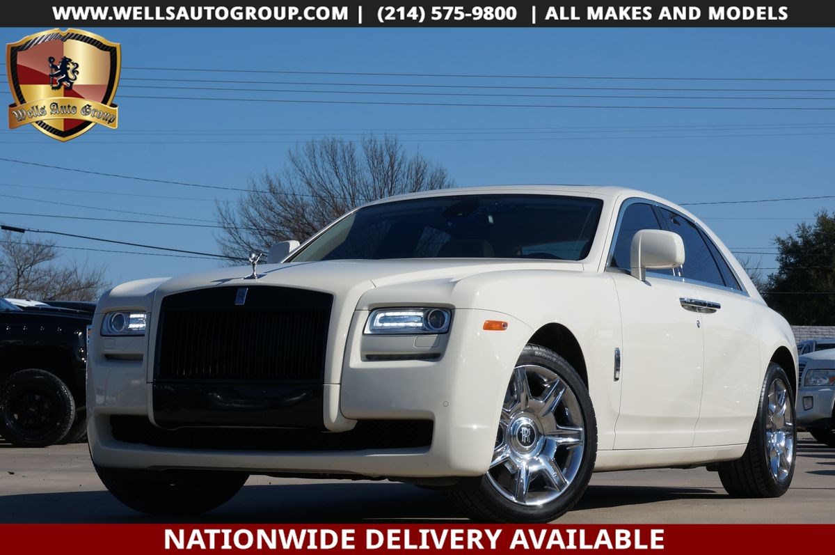 2011 Rolls-Royce Ghost REAR ENT| TABLEs | PANO| DVD| LOADED